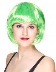 Korte groene damespruik