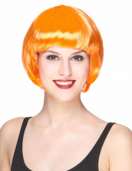 Korte oranje damespruik