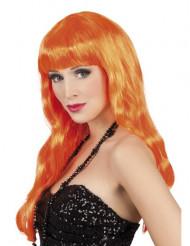 Lange oranje damespruik