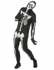 Halloween skeletten kostuum voor mannen