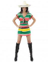 Sexy Mexicaans kostuum voor dames