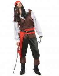 Exotisch piraten kostuum voor heren