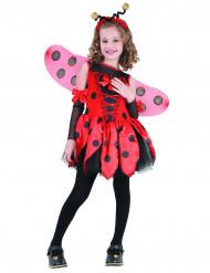 Lieveheersbeestjeskostuum voor meisjes