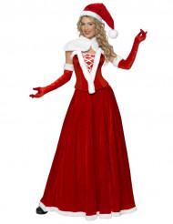 Luxe kerstvrouwpak voor vrouwen