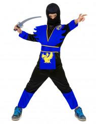 Blauw adelaar ninjapak voor jongens
