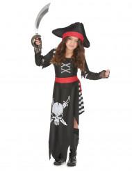 Strijdlustige piraat outfit voor meisjes