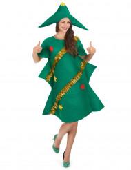 Kerstboomkostuum voor vrouwen