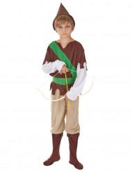 Groen en bruin Robin Hood pak voor jongens