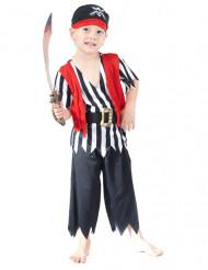 Zeeschuimer piraten outfit voor jongens
