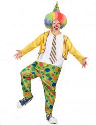 Grappige clown kostuum voor mannen