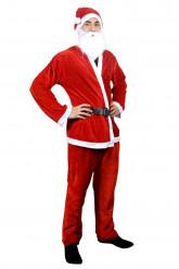 Kerstmanpak voor mannen
