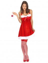 Sexy kerstvrouw jurk voor vrouwen