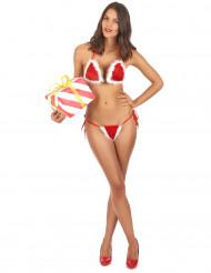 Sexy kerst bikini voor dames