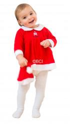Kerstvrouwkostuum voor baby's