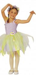 Paars ballerina fee kostuum voor meisjes