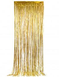Gouden glittergordijn