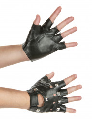 Punkhandschoen zonder vingers
