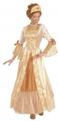 Gouden sprookjesprinses kostuum voor vrouwen