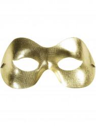 Goudkleurig masker voor volwassenen