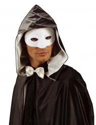 Wit halfmasker voor volwassenen