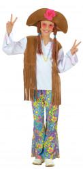 Veelkleurig hippiepak voor meisjes