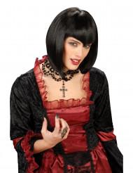 Zwarte damespruik