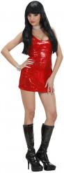 Rode discojurk voor vrouwen
