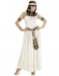 Fluweerlachtig Egyptische koningin kostuum voor dames