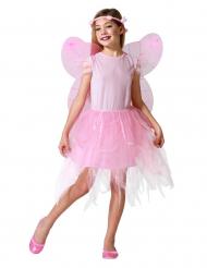 Roze feeënpak voor meisjes
