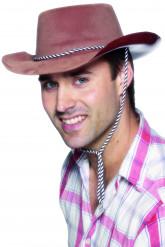 Bruine cowboyhoed voor mannen