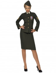 Officierenkostuum voor vrouwen