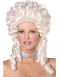 Witte barokpruik voor vrouwen