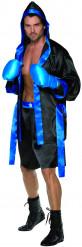 Zwart en blauw boxer outfit voor heren