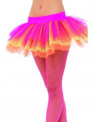 Tutu in roze, geel en oranje voor vrouwen