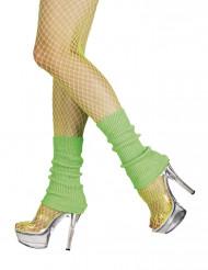 Groene beenwarmers voor vrouwen