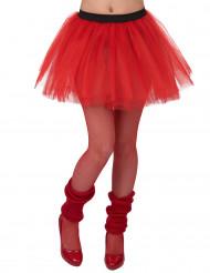 Rode tutu voor vrouwen