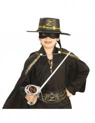 Zorro™-kit met zwaard, masker en hoed voor kinderen