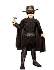 Gespierd Zorro™-kostuum voor jongens