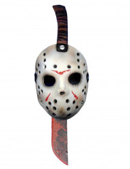 Machete en masker van Jason uit Friday the 13th™
