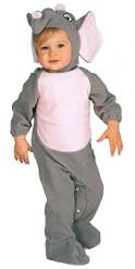 Kostuum olifant voor baby