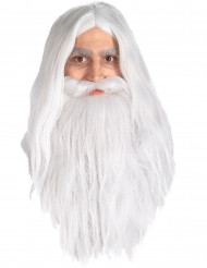 Gandalf Lord of the Rings™ pruik en baard