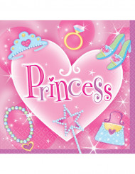 Set Prinses servetten