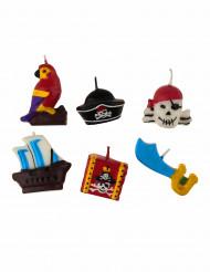 Piraten kaarsen