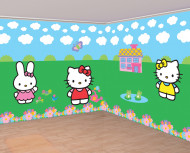 Set Hello Kitty™ muurdecoraties