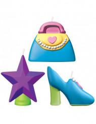 Mini kaarsen accessoires voor meisjes
