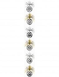 Zilver- en goudkleurige hang decoratie