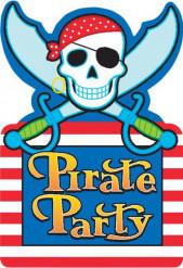 Piraten uitnodigingen