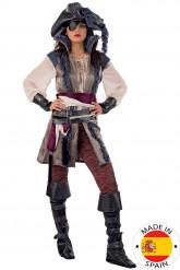 Luxe piraten kostuum voor vrouwen - Premium