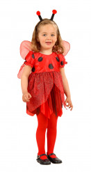 Schattig lieveheersbeestje pak voor meisjes