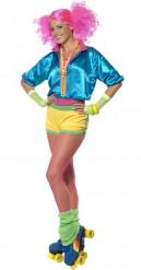 Jaren 90 roller outfit voor vrouwen